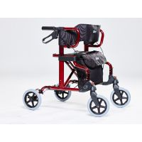 Drive Medical Diamond Deluxe Rollator-Rollstuhl Kombination faltbar