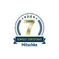 Mitschke Service Zertifikat für 7 Jahre