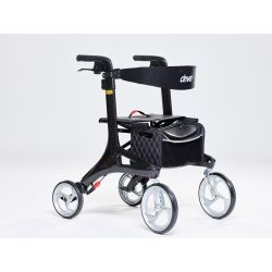 Drive Medical  Nitro Carbon Rollator aus Carbon faltbar